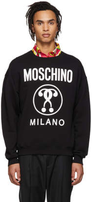 Moschino Black Logo Sweatshirt