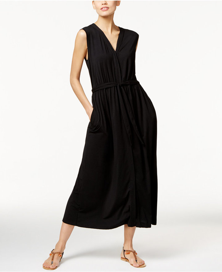 Max Mara Weekend Max Mara Sabato Belted Maxi Dress