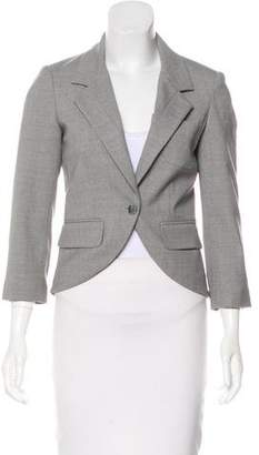 Elizabeth and James Cropped Wool Blazer