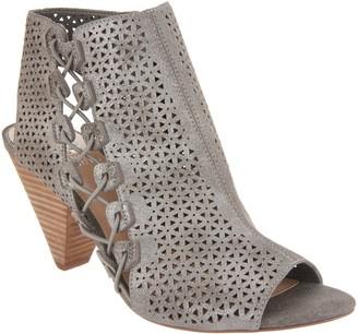 Vince Camuto Leather Peep-Toe Sandals - Elison