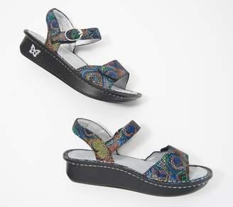 Alegria Leather Adjustable Sandals- Kora