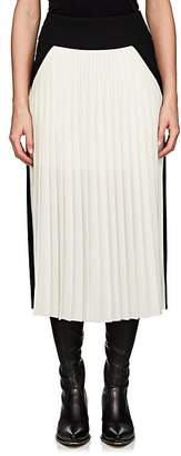 Givenchy Women's Colorblocked Silk-Blend Midi-Skirt