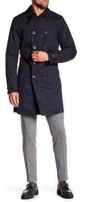 Scotch & Soda Classic Double Breasted Trench Coat