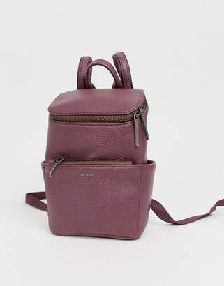 Matt & Nat mini brave backpack in fig