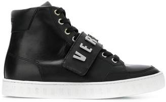 Versus logo lace-up sneakers