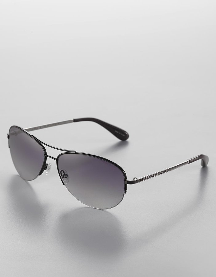 MARC BY MARC JACOBS Small Metal Aviator Sunglasses