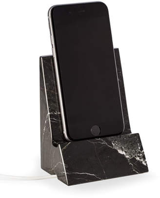 Bey-Berk Zebra Marble Phone/tablet Stand