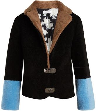 SAKS POTTS Heidi shearling coat