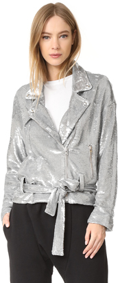 IRO Oliv Sequin Jacket $890 thestylecure.com