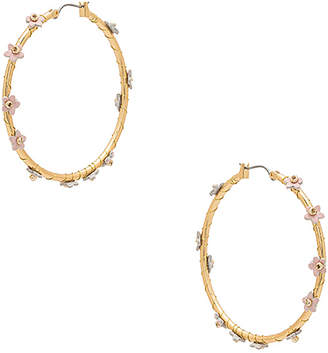 Rebecca Minkoff Calla Hoop Earrings