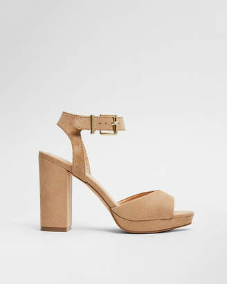 Express Thick Heel Platform Sandals