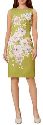 Hobbs London Moira Floral Sheath Dress
