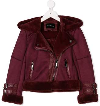 John Richmond Junior shearling-lined jacket