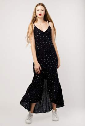 Azalea Strap Button Up Maxi Dress