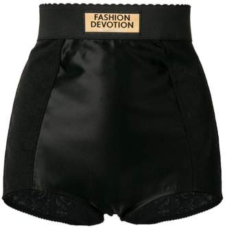 Dolce & Gabbana scalloped mini shorts