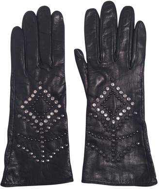 Gianni Versace Leather Gloves