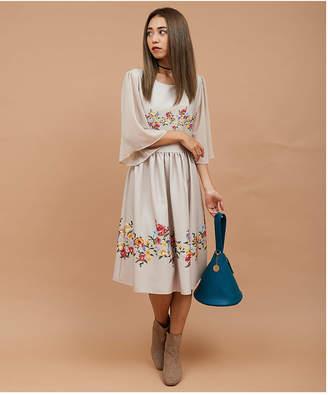 Million Carats (ミリオン カラッツ) - Million Carats noranoel line flower花柄ワンピース[DRESS/ドレス]