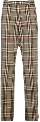 Ports V checked trousers