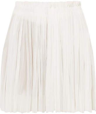 Elena Makri - Antigone Crinkled Silk-tulle Mini Skirt - White