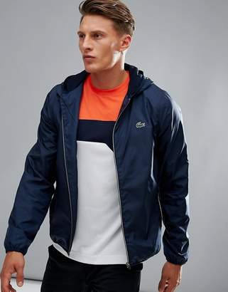 Lacoste Sport Windbreaker Jacket in Navy