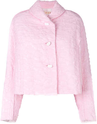 quilted cropped jacket