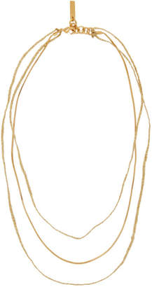 Gold Andre Necklace