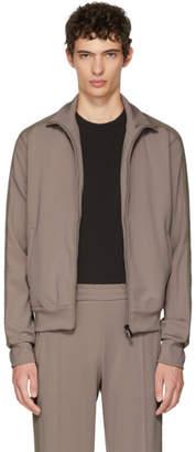 Bottega Veneta Beige Track Zip-Up Jacket