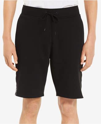 """Calvin Klein Men's Knit Drawstring 9"""" Shorts with Logo Taping"""