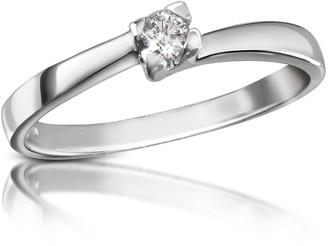 Forzieri 0.08 ctw Diamond Solitaire Ring