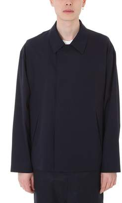 Jil Sander Portofino Blue Cotton Jacket