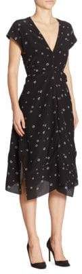 Proenza Schouler Silk Cap Sleeve Dress