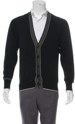 Tom Ford Button-Up Intarsia Cardigan