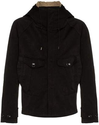 Ten C Tempest button embellished anorak jacket