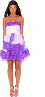 Montrez ORGANZA PARTY MINI DRESS