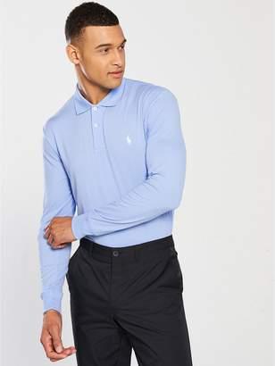 Polo Ralph Lauren Golf Lightweight Performance Long Sleeve Polo - Blue