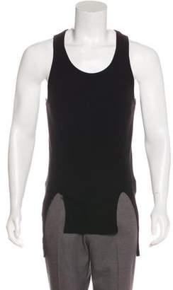Givenchy Rib Knit Longline Tank Top