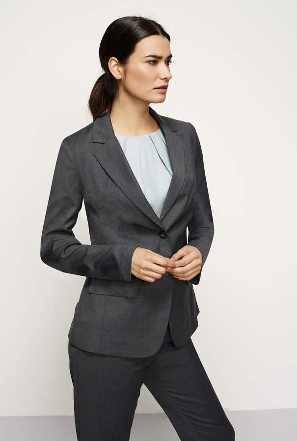 Long Tall Sally Wool Mix Spot Suit Jacket