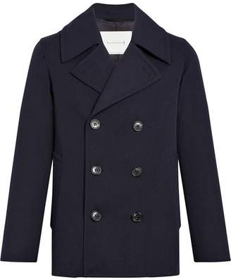 MACKINTOSH Navy Wool & Cashmere Pea Coat GM-119F