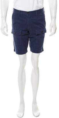 Vince Flat Front Patch Pocket Shorts w/ Tags