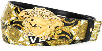 Versace Reversible Medusa-Buckle Belt