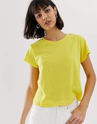 Weekday Misty bright t-shirt