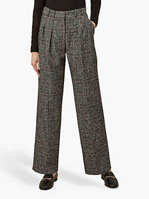 Lorelai Trousers, Ivory Black Red