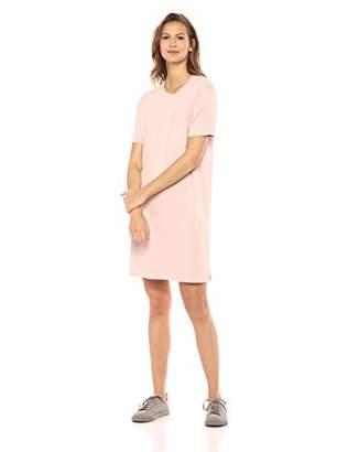 4e43cedaeb15 Amazon Brand - Daily Ritual Women's Supersoft Terry Short-Sleeve Boxy  Pocket T-Shirt