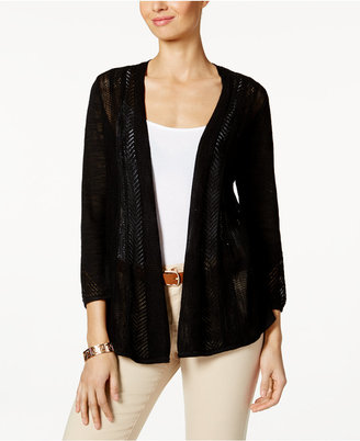 Charter Club Pointelle Cardigan, Only at Macy's $59.50 thestylecure.com
