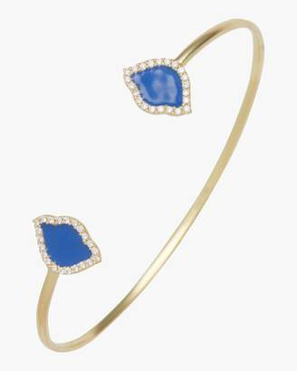 Amrapali Legend Nalika Lotus Enamel Cuff Bracelet