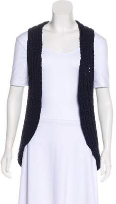 Theory Open Front Knit Vest