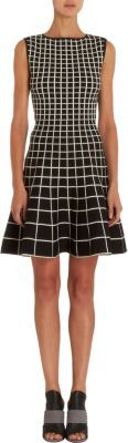 Ohne Titel Grid Knit Dress