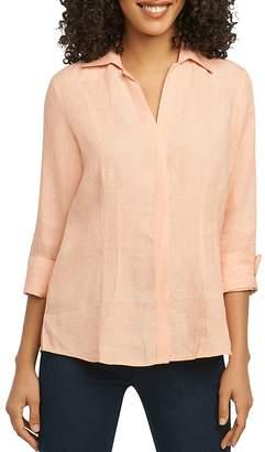 Foxcroft Three-Quarter-Sleeve Shirt