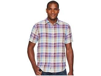 Tommy Bahama La Paz Plaid Short Sleeve Camp Shirt