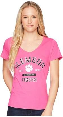Champion College Clemson Tigers University V-Neck Tee Women's T Shirt